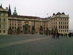 Prague Castle entrance