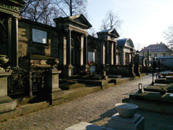 The Cemetary of Vysehrad