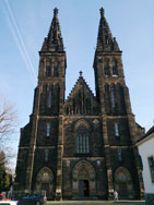 Vysehrad - Cathedral of Peter and Paul