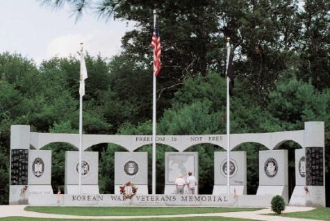Korean War Memorial Washington Korean War Veterans Memorial